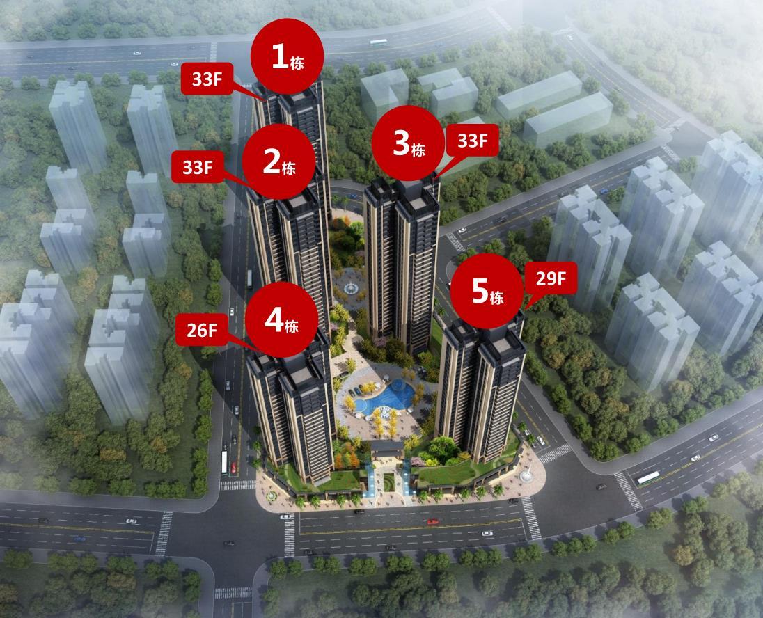 惠州大亚湾香树御园规划图